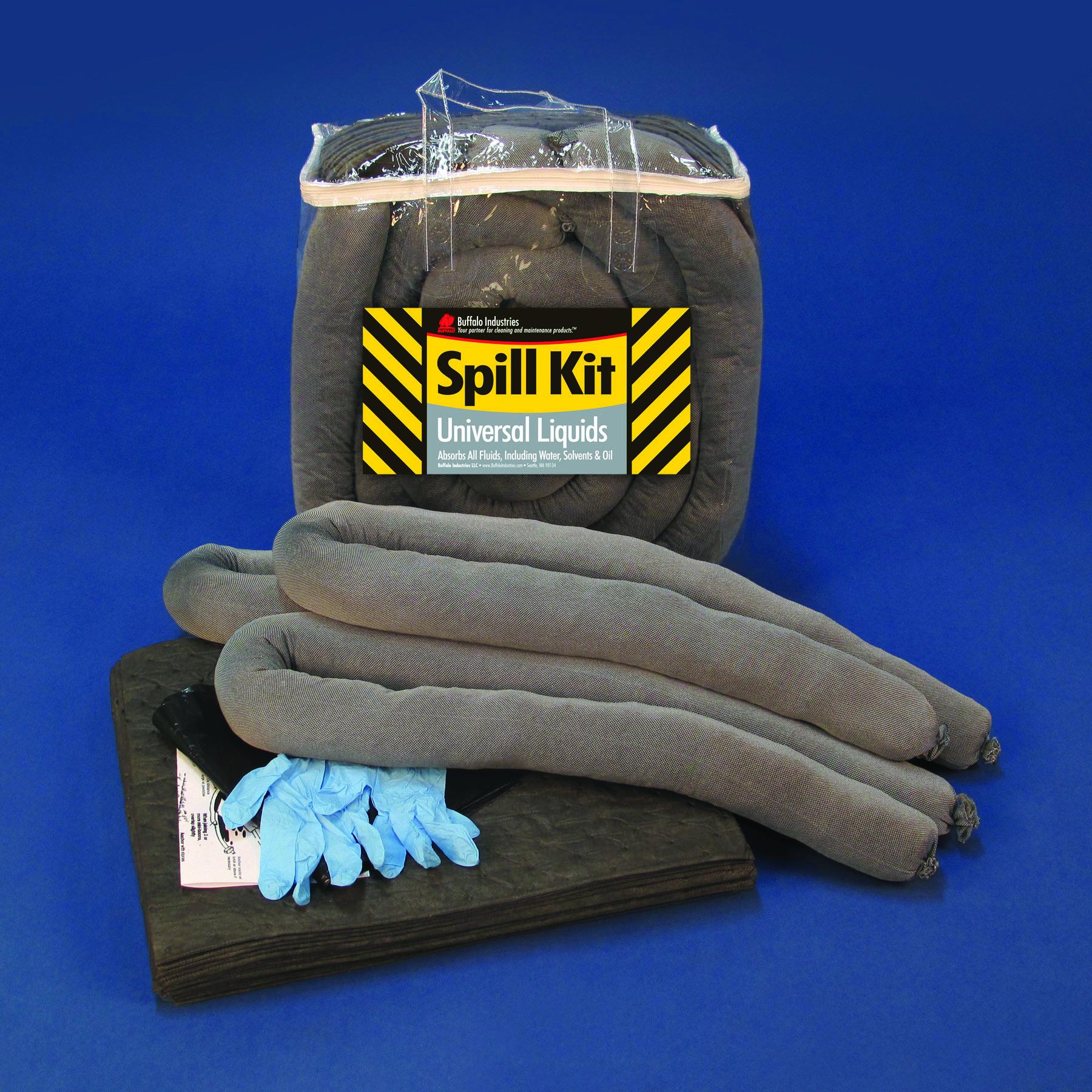 Buffalo Industries 92000 Universal Economy//Quick-Response Spill Kit, 5 Gallon